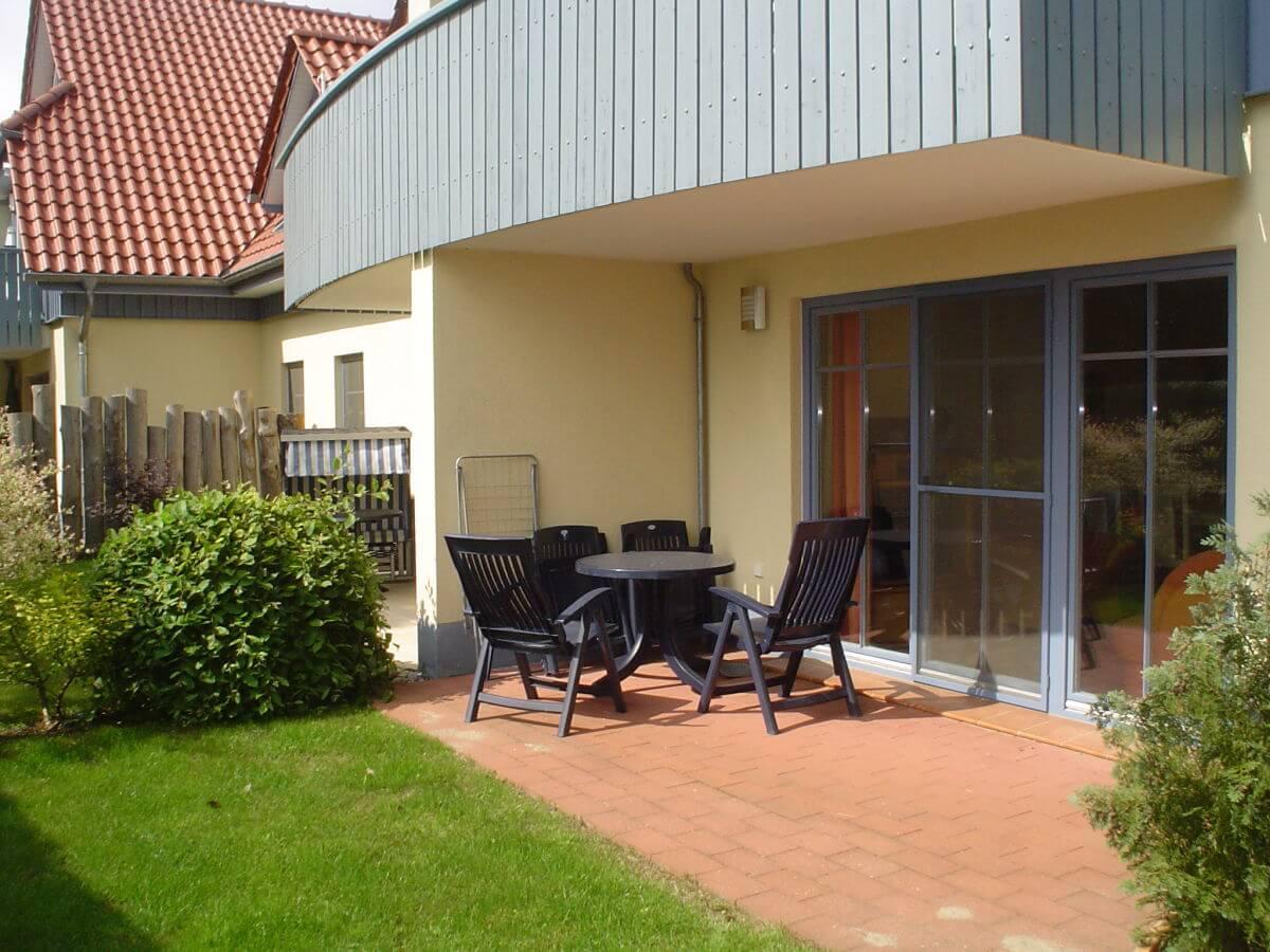 terrasse ferienwohnung ut kieck